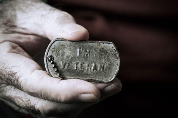 military veteran tag